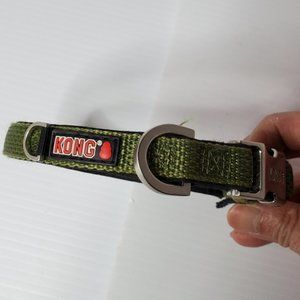 Kong collar for small dogs puppies green
